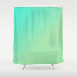 Green Ombre Glitter Look Shower Curtain