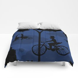 Let's go fly a bike Comforters