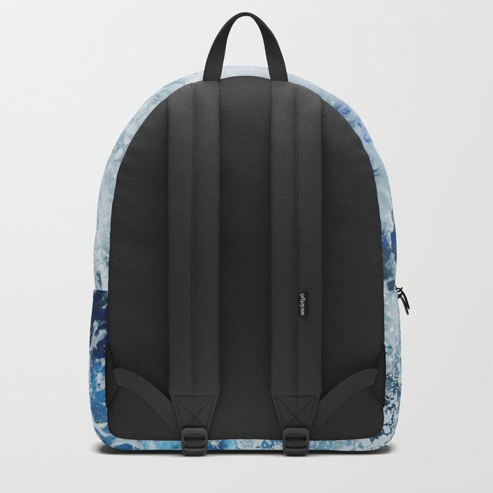 Blue Ocean Glow Backpack