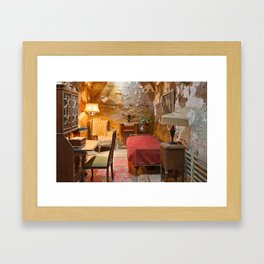 Al Capone's Luxurious Prison Cell Framed Art Print