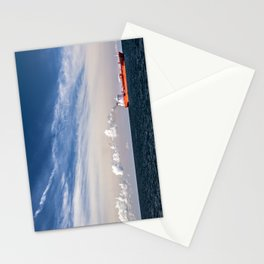 Take Red Ship to Your Love Stationery Cards