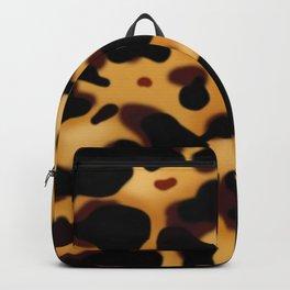 Tortoise Shell Pattern Backpack