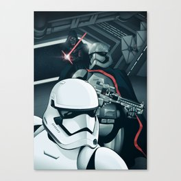 The Force Awakens: The Dark Side Canvas Print