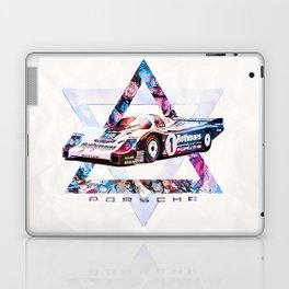 Porsche 956 C Coupé // Le Mans Race Cars Laptop & iPad Skin