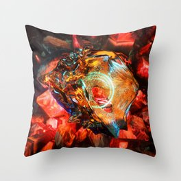 VR_Donut_01 Throw Pillow