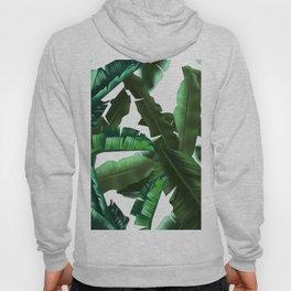 tropical banana leaves pattern 2 Hoody