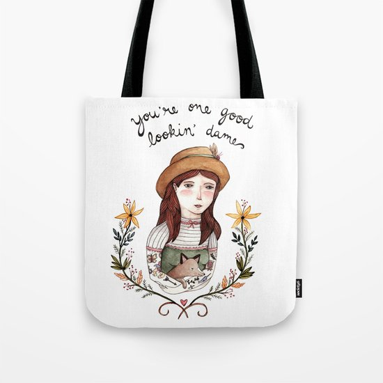 Good Lookin' Dame Tote Bag