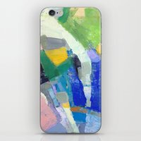 pool iPhone & iPod Skins featuring Pool by Jenny Vorwaller