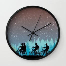 Searching for Will B. - 80s things Wall Clock