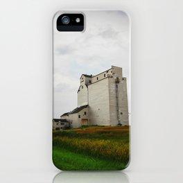 Grain Elevator on the Canadian Prairie iPhone Case