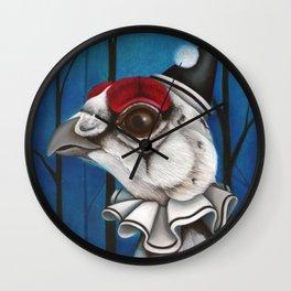 Pierrot the Ptarmigan Wall Clock