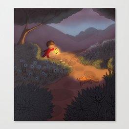 Night Garden Canvas Print