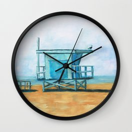 Looking Out for Us Wall Clock