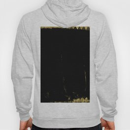 Black and Gold grunge modern abstract background I Hoody