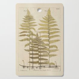 Vintage Fern Botanical Cutting Board