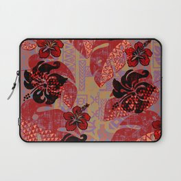 On Fire Kona Tropical Floral Laptop Sleeve
