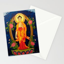 The Jewel in the Lotus Stationery Cards