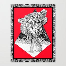 Depiction of Dependent Origination Canvas Print