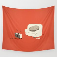 Couch Potato Wall Tapestry