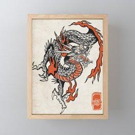 Dragón  Framed Mini Art Print