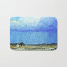 A Perfect Storm, Abstract Landscape Art Bath Mat