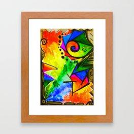 Color Dance Framed Art Print