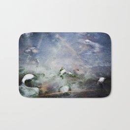 frozen lakes Bath Mat