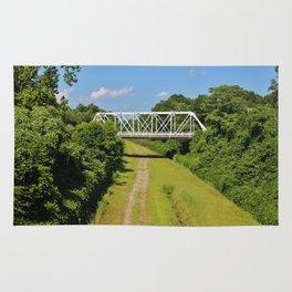 Local Landmark Bridge Rug
