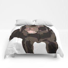 Chocolate Lab Comforters