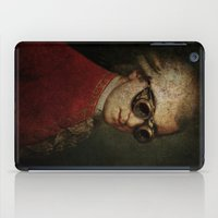 mozart iPad Cases featuring Funny Steampunk Mozart by Paul Stickland for StrangeStore