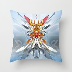 Monark Throw Pillow
