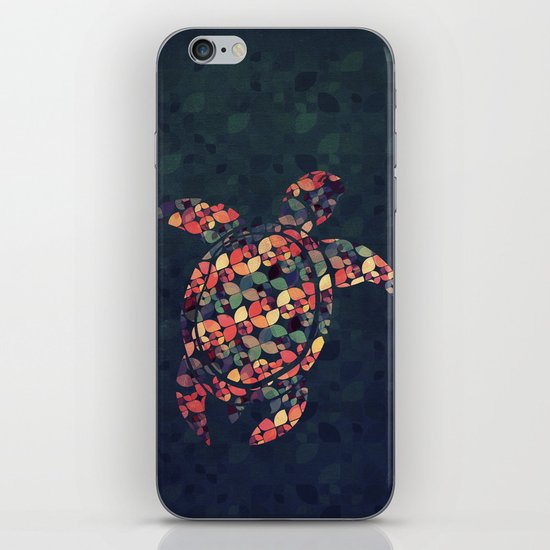 The Pattern Tortoise iPhone & iPod Skin