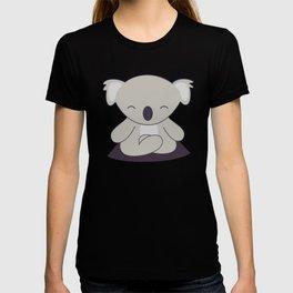 Kawaii Cute Koala Meditating T-shirt