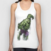 hulk Tank Tops featuring Hulk  by Isaak_Rodriguez