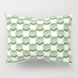 Succulent Wallpaper Pillow Sham