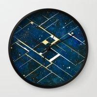 constellation Wall Clocks featuring :: Constellation ::  by Antonio Holguin