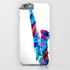 Colorful Saxophone by Sharon Cummings Slim Case iPhone 6