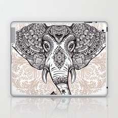 Elephant on Mandala Laptop & iPad Skin