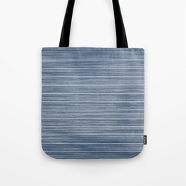 Dark Pastel Blue Whitewashed Beach Hut Cladding Tote Bag