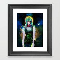 casual elf Framed Art Print