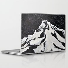 Mount Hood and Stars Laptop & iPad Skin