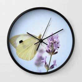 Butterfly 77 Wall Clock