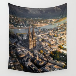 Fall upon Cologne Wall Tapestry
