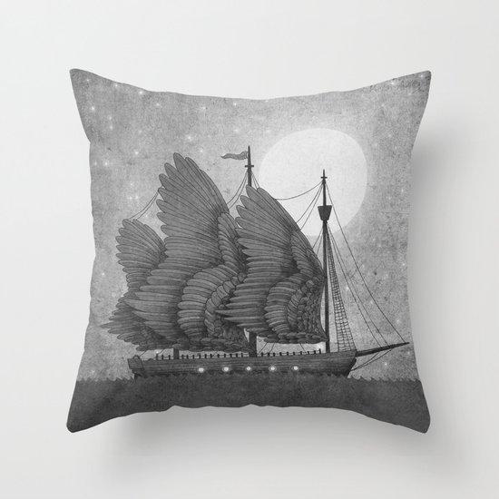 Night Odyssey  Throw Pillow