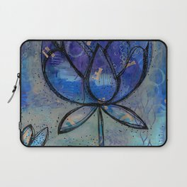 Abstract - Lotus flower - Intuitive Laptop Sleeve