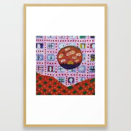 Every windows has a different story Framed Art Print