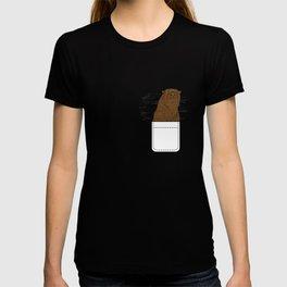 Otter In Pocket T-shirt