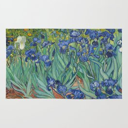 Irises by Vincent van Gogh Rug