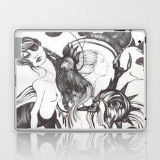 Retrato de Sirena Laptop & iPad Skin