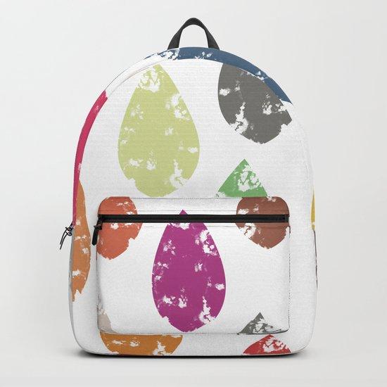 Colorful leaf Backpack